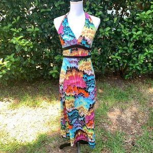 Catch My I colorful dress -Medium